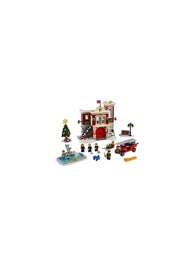 Lego Lego Creator Exşert 10263 Winter Village Fire Station Renkli